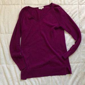 LOFT Fuschia Sweater